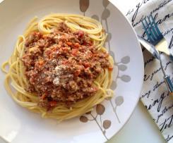 Boloňská omáčka ke špagetám