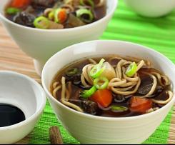 Tchajwanská hovězí polévka