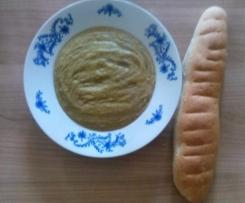Krémová čočková polévka se zeleninou