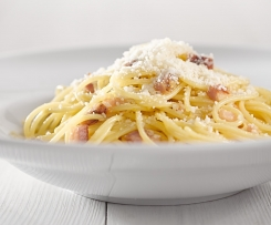 Uhlířské špagety (spaghetti carbonara)