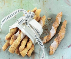 Tyčky z pohanky a pšenice