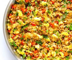 Delikátní zeleninová rýže