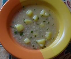 Skleněná polévka