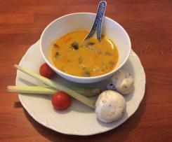 Tom Kha Gai - Thajská polévka