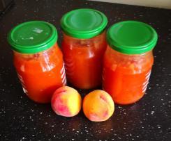 Broskvovo - jahodový džem