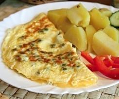 Omeleta s brambory
