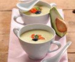 Avokádová krémová polévka