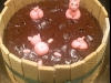 Čokoládový dort - prasátka v bahně
