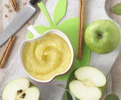 Jablečné pyré s banánem